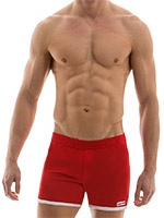 Modus Vivendi - Sporty Shorts - Red