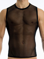Modus Vivendi - Transparent Tanktop - Red