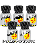 5 x RADIKAL RUSH small - PACK