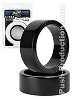 Push Steel - Super Heavy Caliber Cockring Black