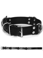 Deluxe Bondage Collar - Black